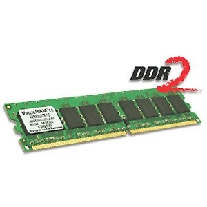 Kingston ValueRam 512MB 533MHz DDR2 Non-ECC CL4 DIMM Retail Packaging