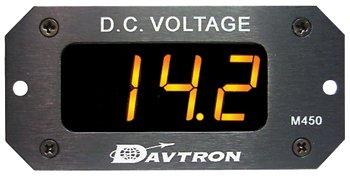 450 Voltmeter/Amber Led/Range: 8V To 32V/Input Voltage: 14V To 28V/Auto Dimming by EDMO Distributors, Inc.