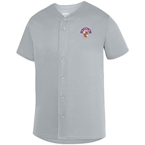 (Tau Epsilon Phi Fraternity Crest Sultan Baseball Jersey Small Silver)