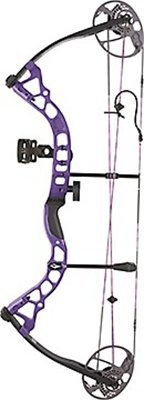 Series Diamond Edge (Diamond Archery Prism Left Hand 5-55# Compound Bow, Purple)