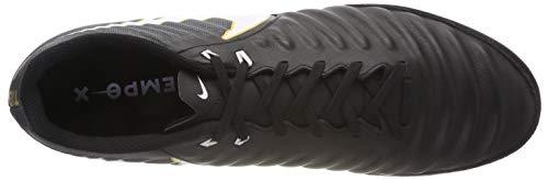 Blanc Chaussures Tiempox NIKE Football Homme IC Noir Noir Noir de Ligera Iv Pdq4I