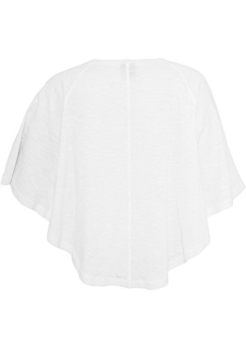 Urban Classics Butterfly - Blusa de mujer estilo Mariposa blanco