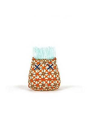 Tangerine Leaf Medallion Dammit Doll Stress Relief Stress Head Lt Monsieur Ennuyeux Turquoise Hair Gag Gift