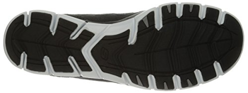 Active White Donna Black Chic Sportive Sleek Skechers and Scarpe Knit Gratis PqxFnwfT