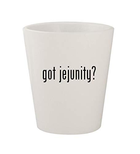(got jejunity? - Ceramic White 1.5oz Shot)