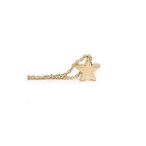 Amazon dainty gold star necklace tiny star pendant necklace dainty gold star necklace tiny star pendant necklace handmade mozeypictures Choice Image