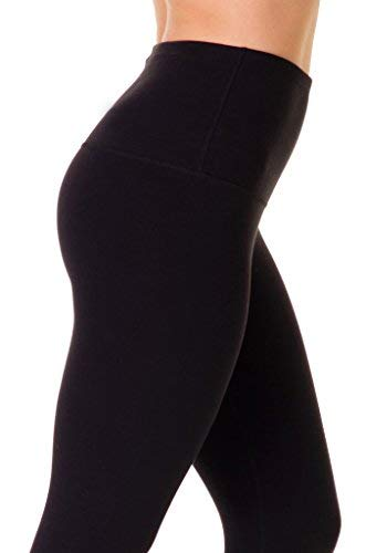 7886772e41ba1b 90 Degree By Reflex - High Waist Power Flex Legging – Tummy Control - Black  XS