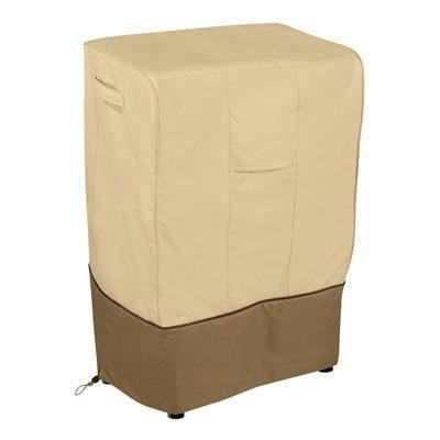 Classic Accessories Veranda Smoker Cover Pebble/18''L x 21''W x 32''H/Square