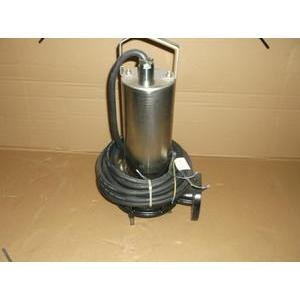 WILO 6047417/2012W23 5.4HP SUBMERSIBLE SEWAGE GRINDER PUMP 460/60/3/2-POLE RPM:3480