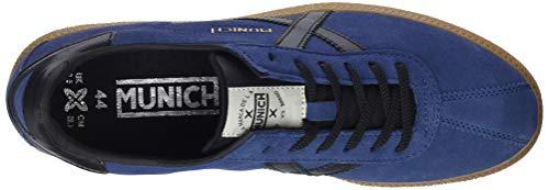 34 – Negro Munich Ginnastica Blu Adulto Azul Basse Barru Scarpe da Unisex xU4ZwqR