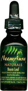 NEEMAURA NATURALS NEEM LEAF EXTRC,OG2,W/ALC, 1 OZ