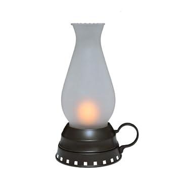 Mark Feldstein & Associates LNT8 Portable LED Lantern with Frosted-Glass Shade