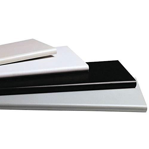 Grey Plastic Duron Bullnose Shelves - 48