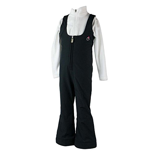 Obermeyer Kids Baby Girl's Snell Stretch Pants (Toddler/Little Kids/Big Kids) Black 8 by Obermeyer Kids
