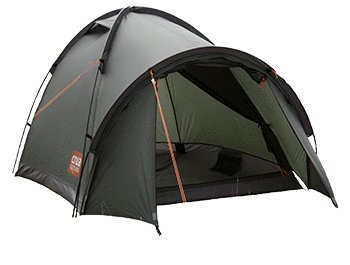 Crua Duo Dome Tent: Waterproof Hiking Camping Durable, Breathable Insulated Expedition Setup, 2 person capacity with Aluminum Frame, Green