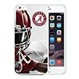 iPhone 6 Plus Case,Southeastern Conference Sec Football Alabama Crimson Tide 6 White Case for iPhone 6S Plus 5.5 Inches,TPU Cover