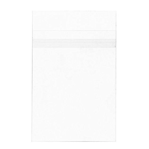 ClearBags 5x7 Seal Top Closure Bags, Perfect Fit For 5x7 Photos, Art Prints, Pictures, Posters | Resealable Adhesive on Bag, Not Flap | Crystal Clear Acid Free, Archival Safe | B75PC Pack of 100 -