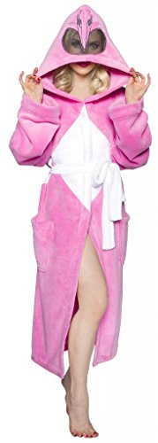 Pink Ranger Adult Costumes (Power Rangers Men's Mighty Morphin Robe, Pink, One Size)