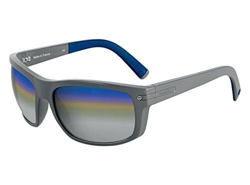 Vuarnet VL 1413 0006 1140 Sunglasses Grey Frame CityLynx Blue Silver bi-shaded Mirror Glass - Glacier Sunglasses Vuarnet