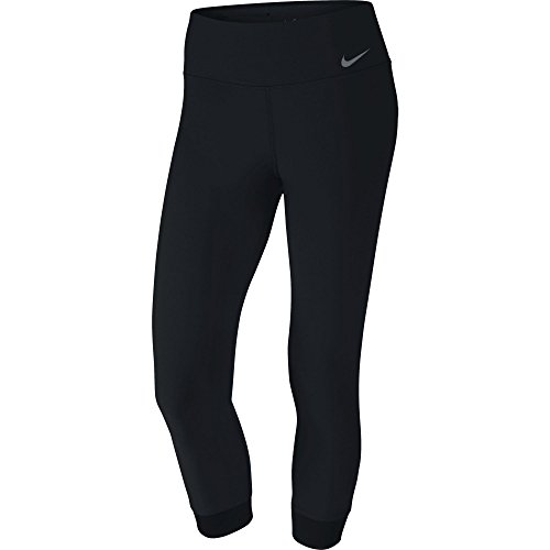 Grey Nike Legend (NIKE Women's Power Legend Training Crops, Black/Cool Grey, X-Large)