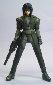 From Ghost in the Shell SAC 2nd GIG Motoko Kusanagi in CG (ninja clothes Ver.) by TOMY