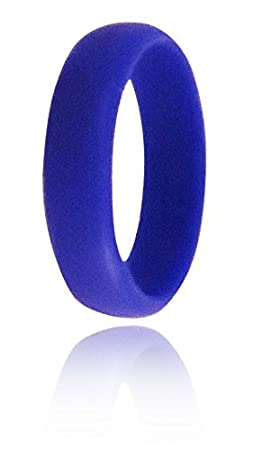 Hypoallergenic Waterproof Etc Firefighters Medical Grade Silicone | Durable For Women Crossfit Emporium Womens Ladies Silicone Wedding Band Ring Laborers Athletes