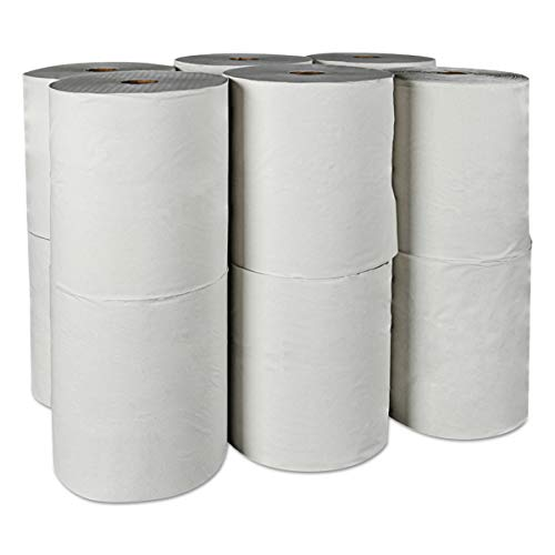 Scott 01052 Hard Roll Towels, 100% Recycled, 1.5'' Core, White, 8'' x 800ft (Case of 12 Rolls) by Scott (Image #6)