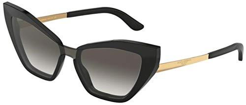 Dolce & Gabbana Women's DG4357 Black/Grey Gradient One Size (Dolce Gabbana Sonnenbrille Herren)