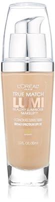 L'Oreal Paris True Match Lumi Healthy Luminous Makeup, 1.0 Ounce
