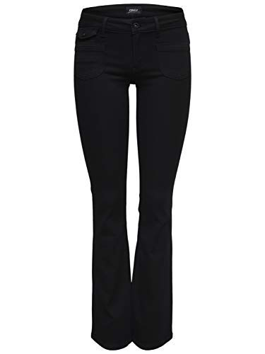 Pantalón de Mujer Ebba Suave Pantalones Vaqueros Bootcut ...