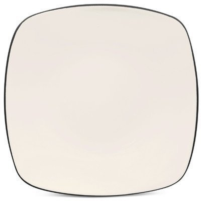 Noritake Colorwave Graphite 8 1/4-InchSquare Salad/Dessert Plate, - Colorwave Noritake Graphite Square