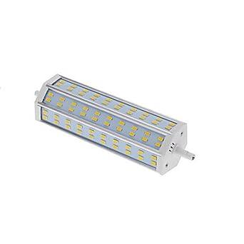 Bombillas LED Focos LED R7S 25W 60 SMD 5730 1440 LM AC 100-240 V 1 pieza Blanco Cálido Lámpara: Amazon.es: Iluminación