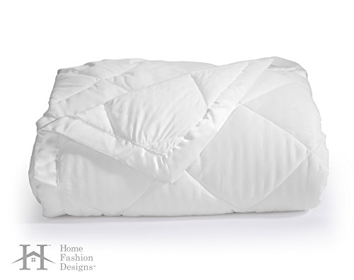 Romana Collection (Home Fashion Designs Romana Collection Luxury Goose White Down Alternative Blanket By Brand (Full/Queen, White))