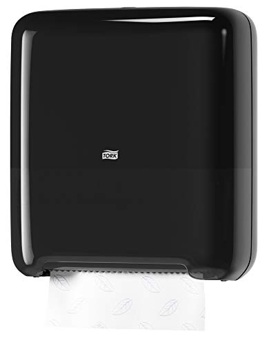 Tork 5510282 Elevation Matic Paper Hand Towel Roll Dispenser, 14.65'' Height x 13.2'' Width x 8.1'' Depth, Black (Case of 1 Dispenser) by Tork (Image #5)