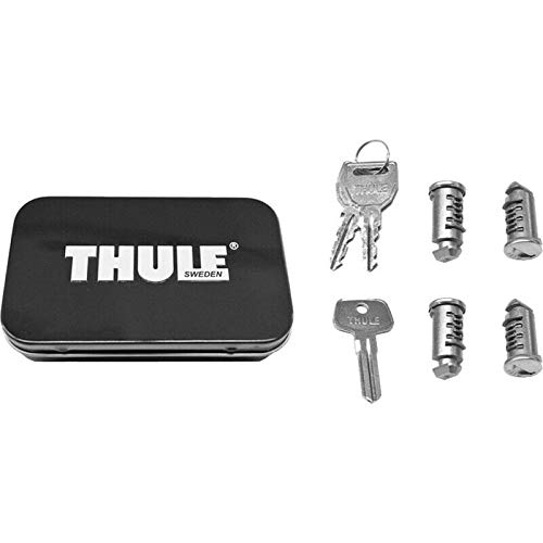 Thule 544 Lock Cylinders for Car Racks (4-Pack),4 - Cylinder Accessory
