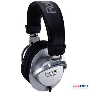 Roland Headphones (Silver) RH200 S Japan Used Like New