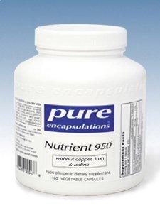 950 éléments nutritifs aucun 180C cuivre, le fer, l'iode ou
