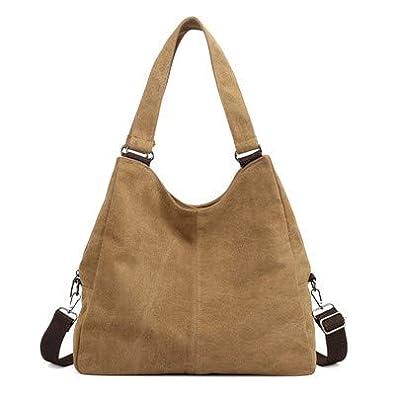 2d0f23a44e VMOHUO Woman Canvas Bags Casual Shoulder Bag Fashion Portable Big Tote  Female Large Capacity Leisure Handbag