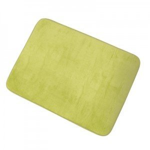 MSV 140858 Douceur Teppich Memory-Form Polyester und Polyamid + Polyurethan + SBR grü n 50 x 70 x 0, 1 cm