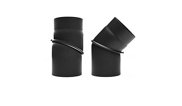 1000 mm negro raik SH002-160-SW gartinex//tubo 160 mm