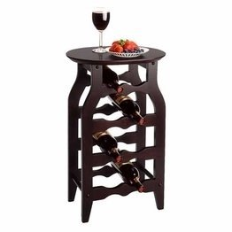 e Wood Wine Rack by Winsome (Metro 8 Bottle Wall)