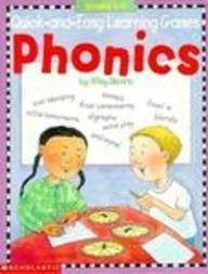 Quick-and-Easy Learning Games: Phonics (Grades 1-3)