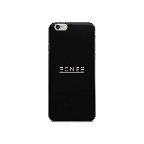 iPhone 6 Case iPhone 6s Case Clear Anti-Scratch Bones Cover Phone Cases for iPhone 6/iPhone 6s, Crystal Clear]()