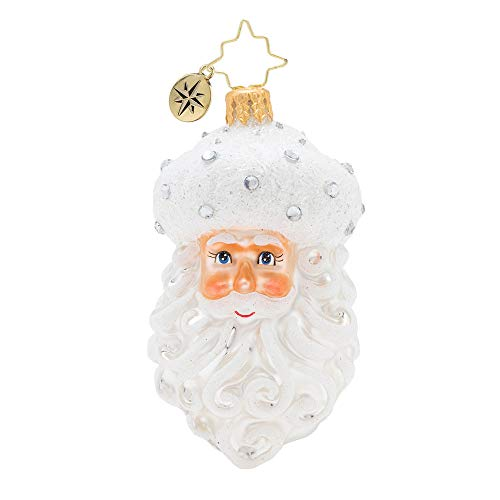 Christopher Radko Winter Frost Santa Gem Christmas Ornament, ()