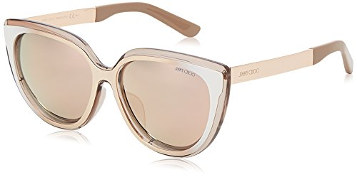 Aviator metal Brown Sf Hv Glitterbw Jimmy S TORA Marrón mujer Choo qUA4ZA