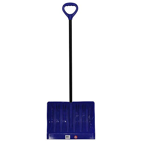 Emsco Bigfoot Series 19 in. Mega Combination Poly Snow Shovel with Metal Handle (Roof Rake Garant Poly)