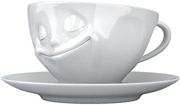 T014301 Glücklich MlWeiß Hartporzellan Tasse Fiftyeight 200 Kaffee 29WDYIHE