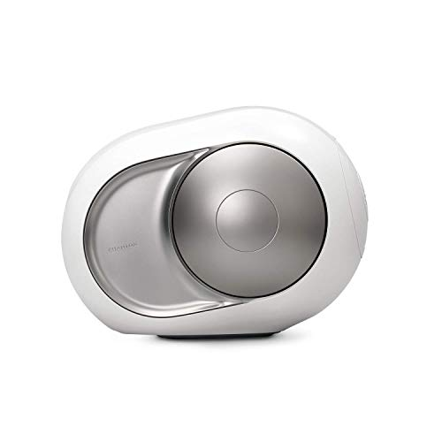 Devialet DB400 Silver Phantom Renewed (No Airplay) - High-end Wireless Speaker - 3000 Watts - 105 dB (Renewed)