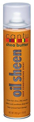 (Cantu Shea Butter Oil Sheen Deep Conditioning Spray 10 Ounce (295ml) (6 Pack))