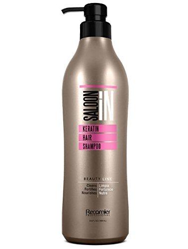 Recamier Salon'IN Keratin Hair Shampoo | Champu de Queratina Para Uso Profesional 33.8 Ounces 1 Mililiter